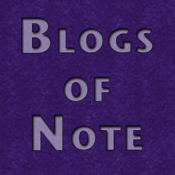Blogs of note 3