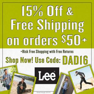 Lee.com Promo